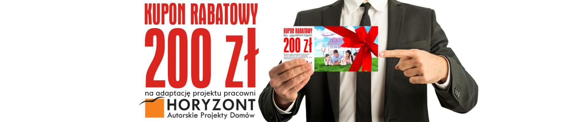 adaptacja24.pl |Kupon rabatowy na adaptację projektu pracowni Horyzont